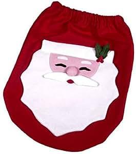 Santa Toilet Seat Cover