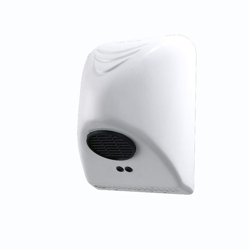 DUANJY Asciugamani elettrico, ad alta velocità, risparmio energetico, asciuga mani ad aria calda veloce, servizi igienici e bagno (bianco) duanjianyun