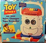 : Pixar's Toy Story Mr. Mike ~ Voice Changer Mic ~ Tape Recorder and Player