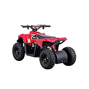 Monster 500W 36V Electric Ride-On ATV for Kids, Red