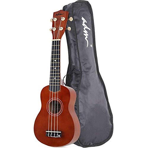 ADM Soprano Ukulele Beginner Ukulele Kit with Gig Bag