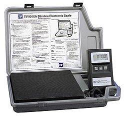 TIF 9010A Slimline A/C Refrigerant Scale