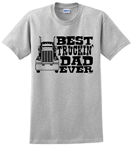 ThisWear Truckin Truck Driver T Shirt