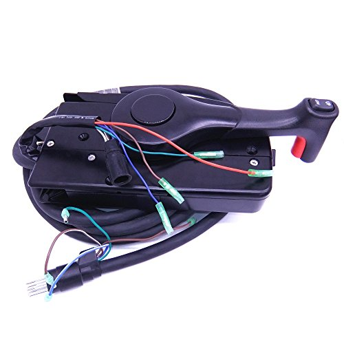 881170A15 Boat Motor Side Mount Remote Control Box with 8 Pin for Mercury Outboard Engine PT, Left - Control Mercury Throttle