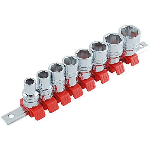 SK11 논 스립 소켓 세트 6 각 SHS308X 클립 색상 : 레드 플러그 접속 코너 : 9.5mm 8 점 1 세트