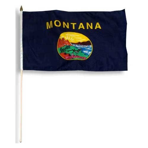 US Flag Store Montana Flag 12 x 18 inch