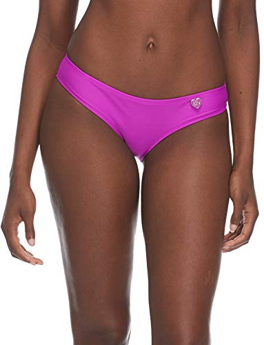 - Body Glove Women's Smoothies Eclipse Solid Surf Rider Bikini Bottom Swimsuit, Magnolia, X-Large