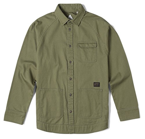 Altamont Marrow Shirt Jacket Small Army