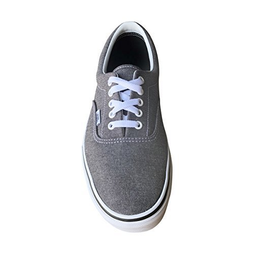 59d6738a84 Galleon - Vans Unisex Era Canvas Skate Shoes (Micro Herringbone BLK ...