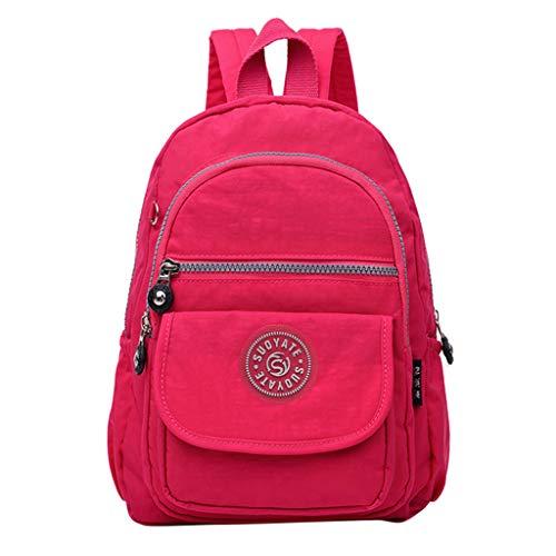 Kids Student School Backpack Women Men Fashion Large Capacity Backpack Nylon Waterproof Travel Bags Schoolbag Under 15
