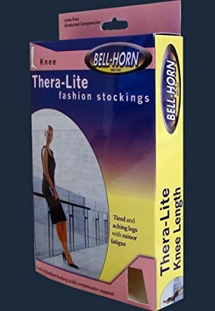 Bell Horn Womens 20-30 mmHg Compression Pantyhose Supports Hose Stockings Veins