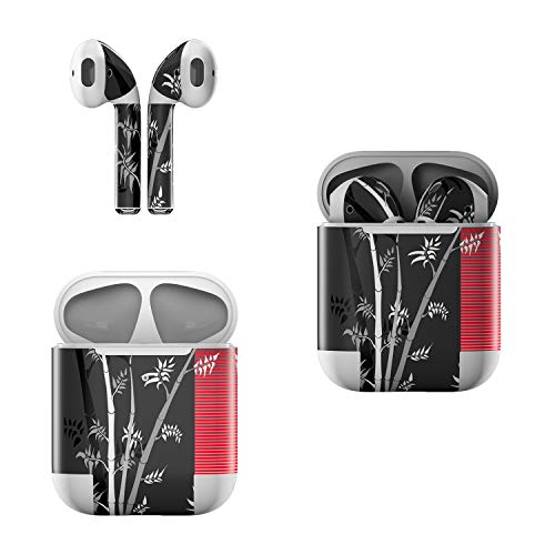 (Skin Decals for Apple AirPods - Zen Revisited - Sticker Wrap Fits 1st and 2nd Generation)