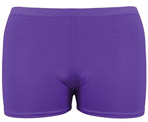 TrendyFashion - Pantaloncini - Basic - Donna NEON PURPLE