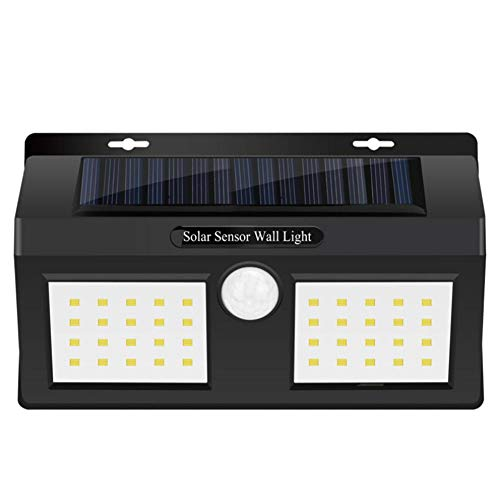 DREAMALVA Waterproof LED Motion Sensor Solar Lights Outdoor Motion Activated Security Lighting 40 LED Bright Solar Powered Light Solar Security Light Wall Light for Patio, Deck, Yard, Garden
