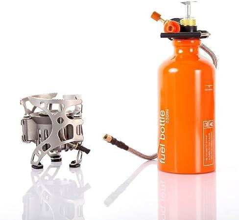 Bosch Estufa de gas portátil de combustible múltiple para camping al aire libre