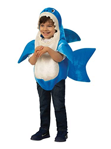 Family Halloween Costumes With Toddler And Baby (Rubie's Kid's Daddy Shark Costume with Sound Chip,)