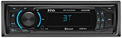 Boss Audio 625uab Car Stereo - Single Din, Bluetooth, Mp3usbwma Amfm Radio, Detachable Front Panel