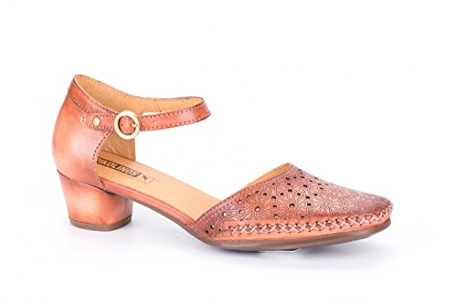 Sandali Pikolinos Gomera W6r-5830 Scarpe Da Donna Con Cinturino Sandalo Arancione