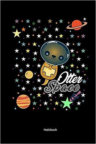 Otter Space Notizbuch A5 Kariert Lustige Otter Wortspiele