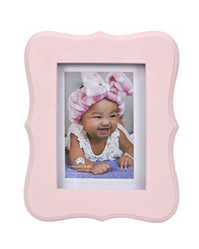 Concepts Baby Pink Scalloped Picture Frame 5''x7''