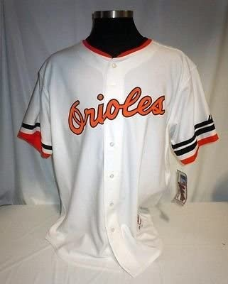 3921a5730 Baltimore Orioles Authentic Majestic Home Jersey w Jim McKay Memorial  Armband at Amazon s Sports Collectibles Store