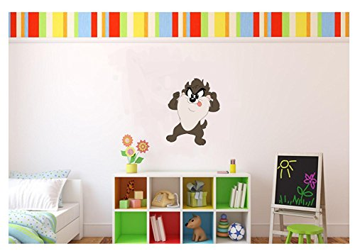 Large Baby Taz Looney Tunes Wall Decal Kids Room 17