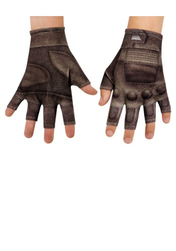 Disguise Marvel Captain America The Winter Soldier Movie 2 Child Gloves, One Size Child -