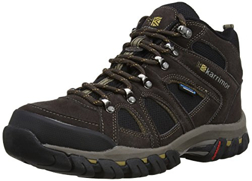 Karrimor Bodmin Mid IV Weathertite Brown Uk 10.5 - Scarpe da Arrampicata Alta Uomo, Marrone (Dark Brown), 44.5 EU