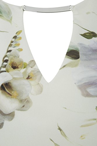 Femme Ceremonie Crme Crme Robe Soiree Elegant Originals Ronde Mariage Roman Pastel Fleurs Fleurie pour 5wqg1XCXx