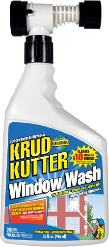 KRUD KUTTER WW32H4 Window Wash, 32 oz (Best Way To Wash Windows Without Streaks)