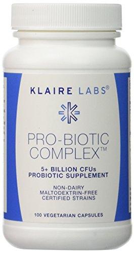 Klaire Labs - Pro-Biotic Complex 100 Vcaps (Complex Probiotic)