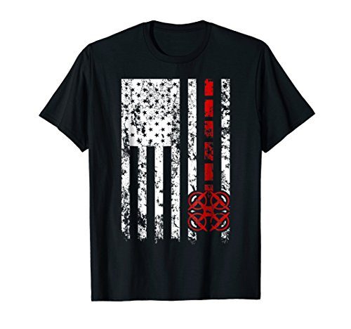 Drone Distressed American Flag Quadcopter TShirt Gift