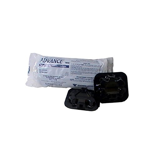 Dual Station Control - Prescription Treatment brand Advance 360A Dual Choice Ant Bait Stations-4 Pack