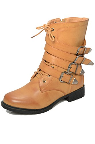 EASY21 kids Girls Buckle Slouch Boots