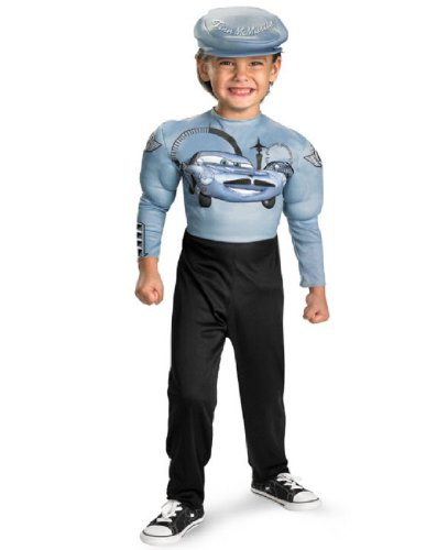 Finn Mcmissile Classic Muscle Costume - Small (4-6) - Kids Classic Muscle Finn Mcmissile Costumes