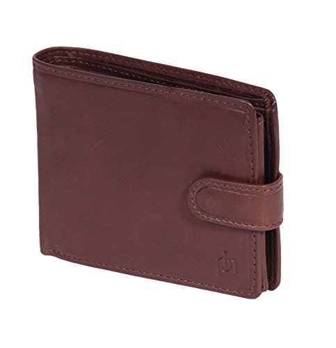 House Leather Purse Leather Stuttgart Mens Banknotes Boxed Soft Brown Card Wallet ID Gift Of Coins Credit Bifold rR7q4rn