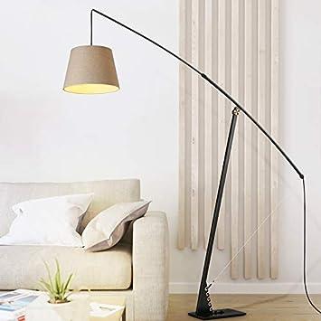 Shanque Moderno Minimalista lámpara de pie Dormitorio de ...
