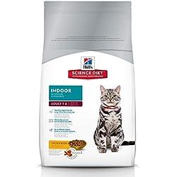 Hill's Science Diet Dry Cat Food, Adult, Indoor, Chicken Recipe, 7 lb Bag