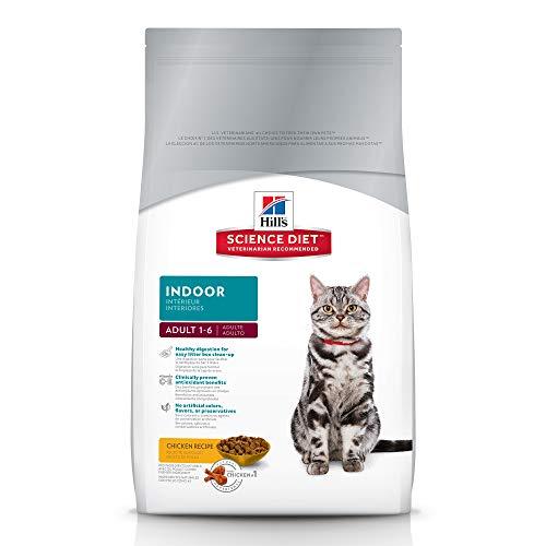 (Hill's Science Diet Dry Cat Food, Adult, Indoor, Chicken Recipe, 7 lb Bag)