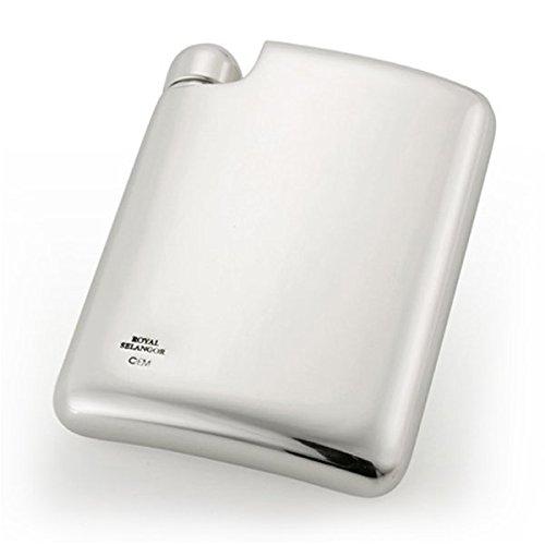 Royal Selangor Hand-Finished Pewter Hip Flask Designed by Erik Magnussen 160ml by Royal Selangor
