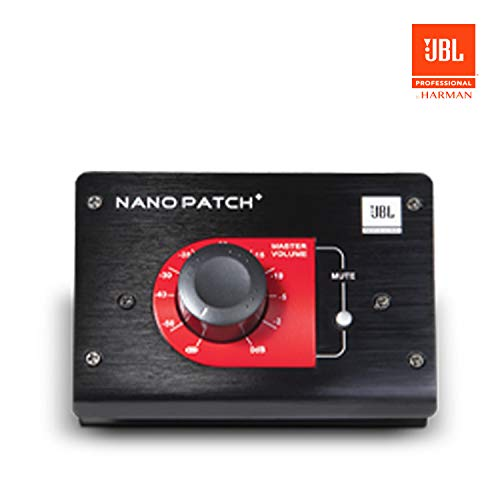 JBL NPATCH BLK Nano Patch+ Compact 2-Channel Passive Volume Controller