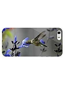 3d Full Wrap Case For Ipod Touch 4 Cover Animal Hummingbird90