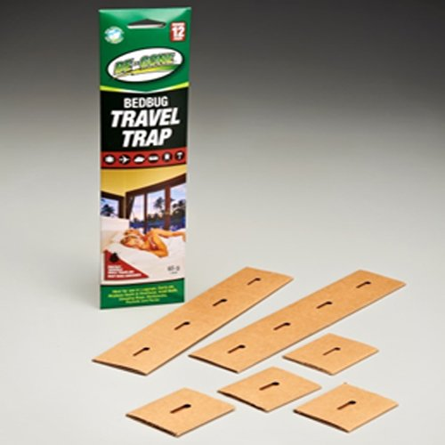 Be-Gone Travel Size Bed Bug Trap & Monitoring Early Detection System 12pc Kit