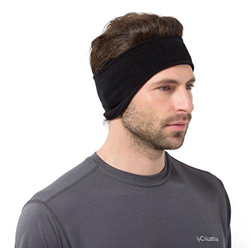 Tough Headwear Fleece Ear Warmers Headband, - Headwear Ear