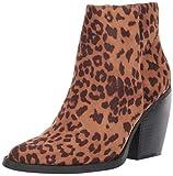 Madden Girl Women's Klicck Ankle Boot, Leopard Fabric, 8.5 M US