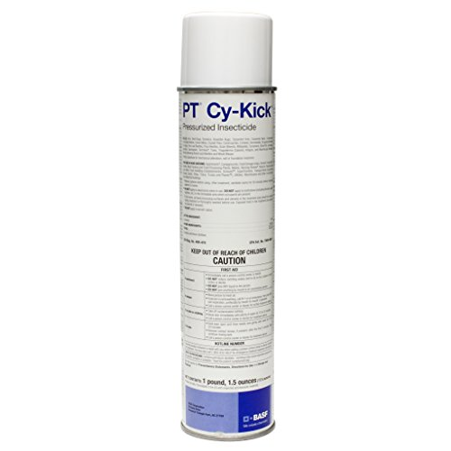 Cy-Kick Aerosol Pressurized 17.5 oz-1 can (Cy Kick Cs Insecticide)