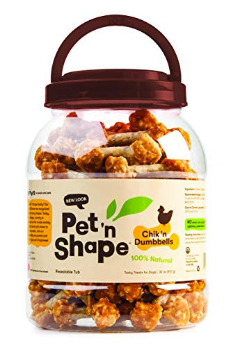 (Pet 'n Shape Chik 'n Dumbbells (32 oz))
