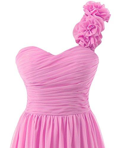 De Soiree Robe Demoiselle Chiffon Bal Foncé Longue Fête Robes Violet D'honneur Jaeden qw1AIA