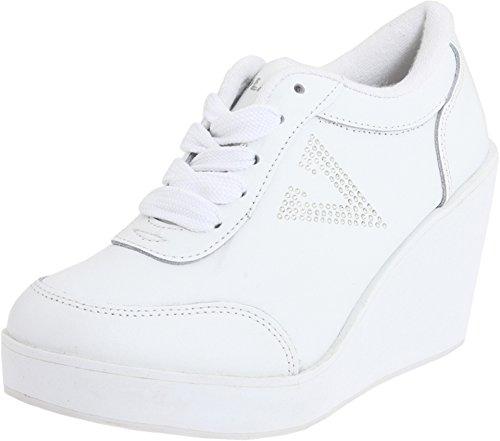 Volatile Platform Sneakers - Volatile Women's Cash Sneaker,White,8 M US