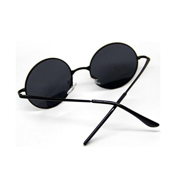 M-Egal Classic Goggles Steampunk Sunglasses Men Retro Round Glasses Eyes Wear 5